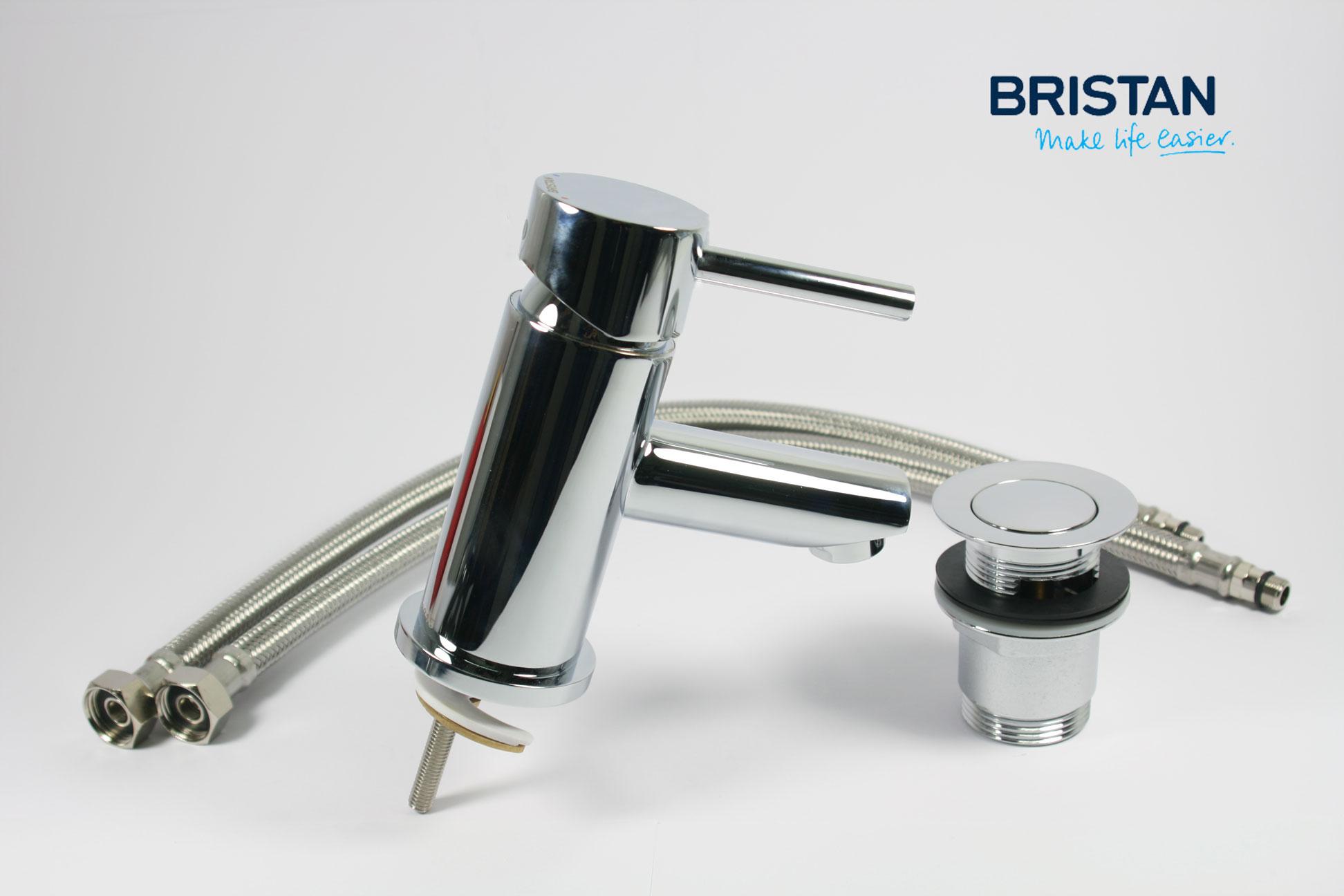 100 bristan bath shower mixer taps gummers solo mono basin bristan bath shower mixer taps bristan blitz basin monobloc mixer tap with clicker waste chrome