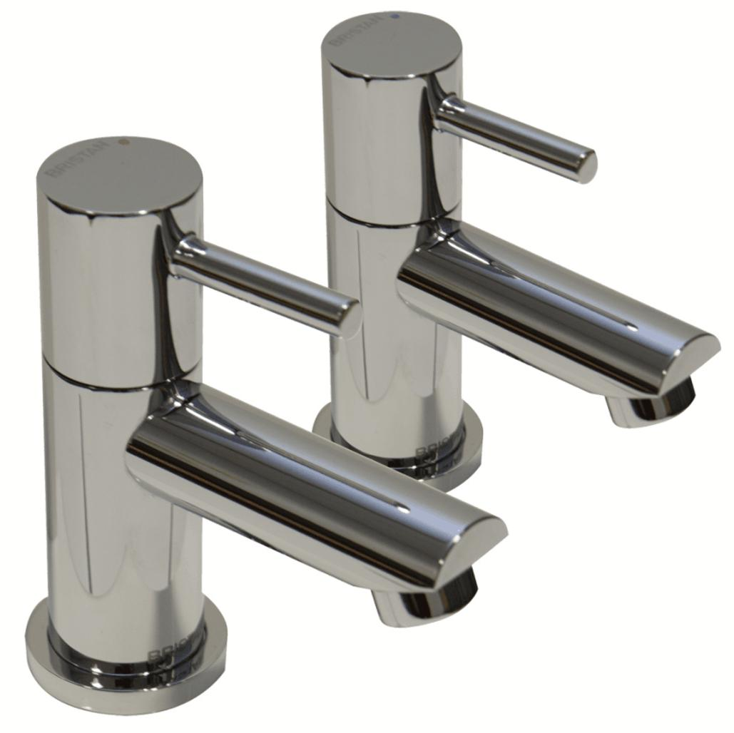 Bristan Blitz BTZ 1/2 C Basin Lever Taps Chrome Plated