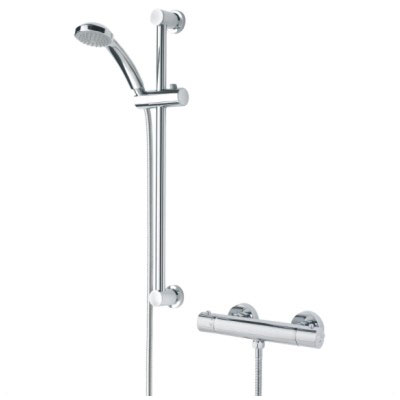 Bristan Frenzy Thermostatic Bar Shower Mixer Kit