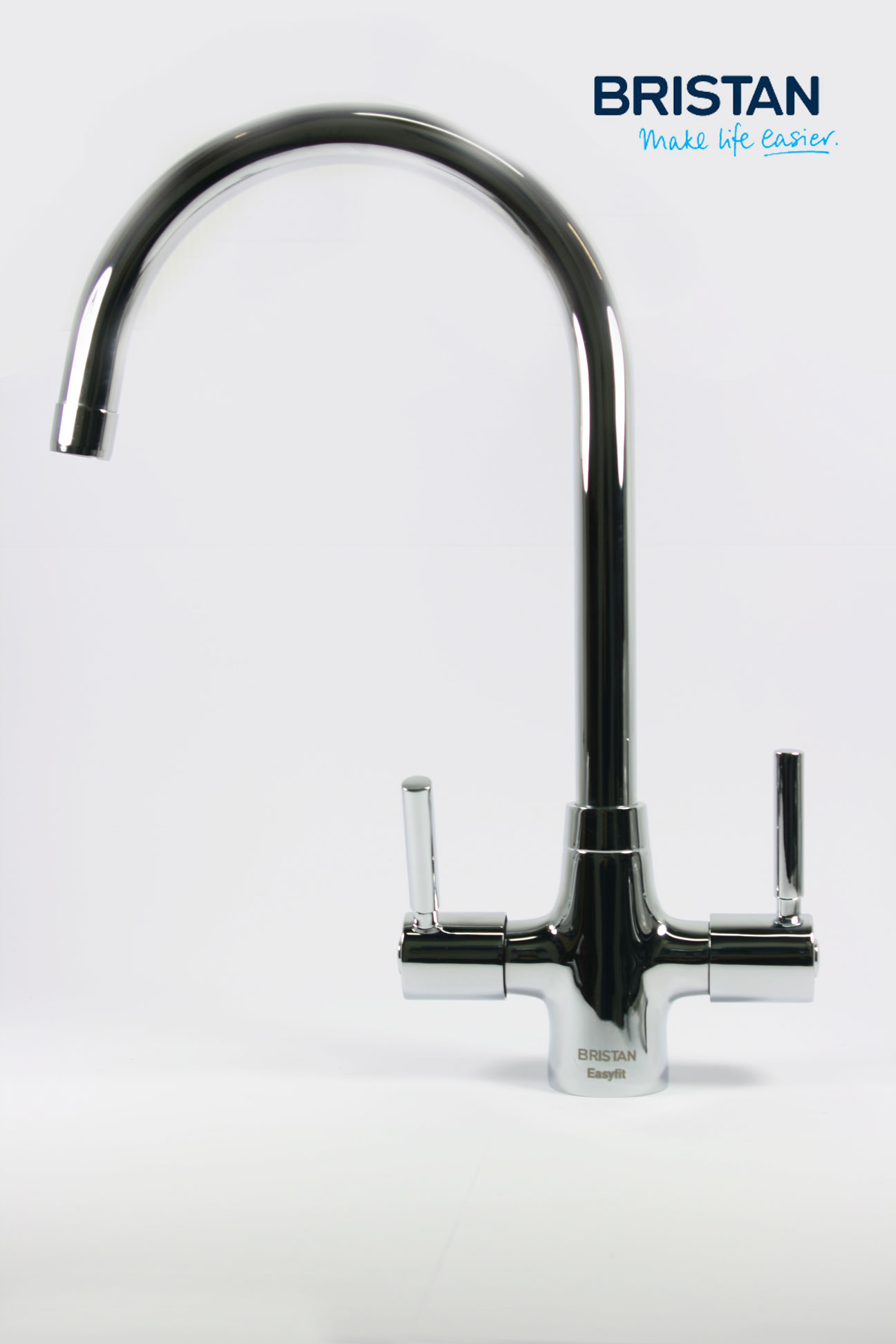 Bristan Monza Kitchen Sink Monobloc Mixer Tap Easy Fit