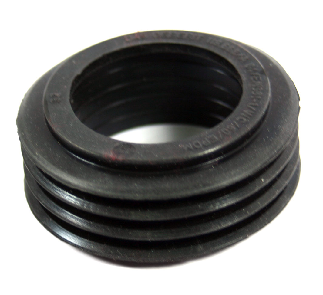 Geberit 40mm Internal Flush Pipe Black Rubber Cone Seal