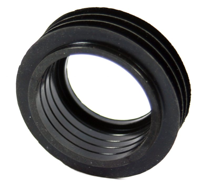Geberit 40mm Internal Flush Pipe Black Rubber Cone Seal