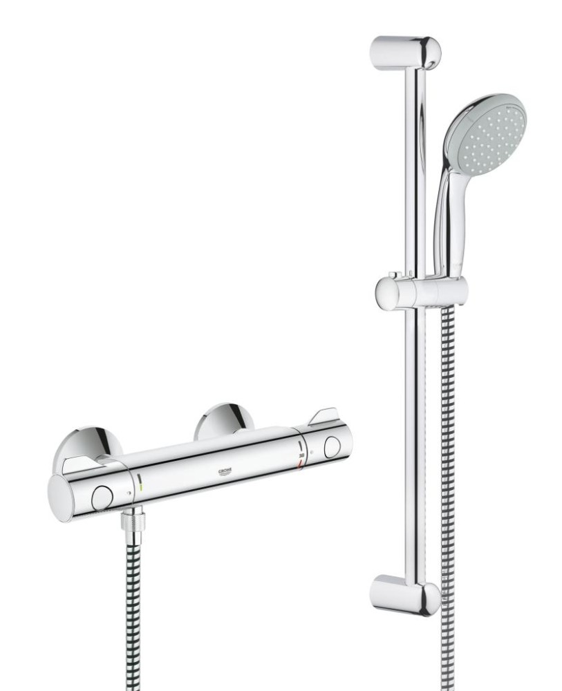 Grohe Grohtherm 800 Thermostatic shower mixer 1/2""