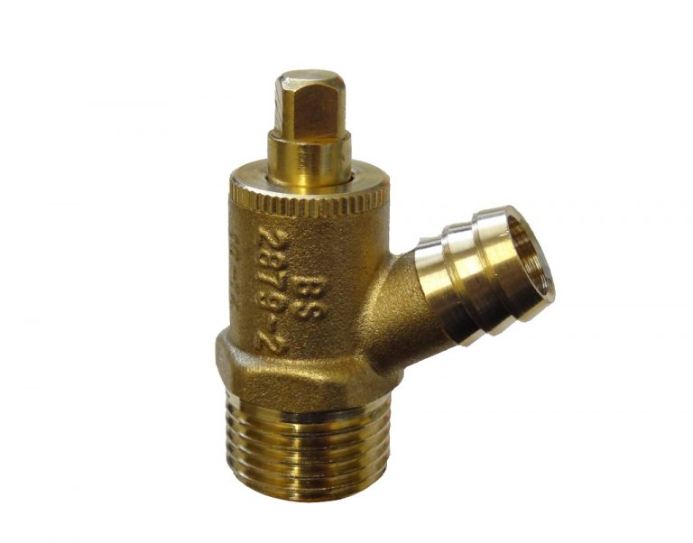 "Drain off Cock ½"" Type A Brass Threaded"