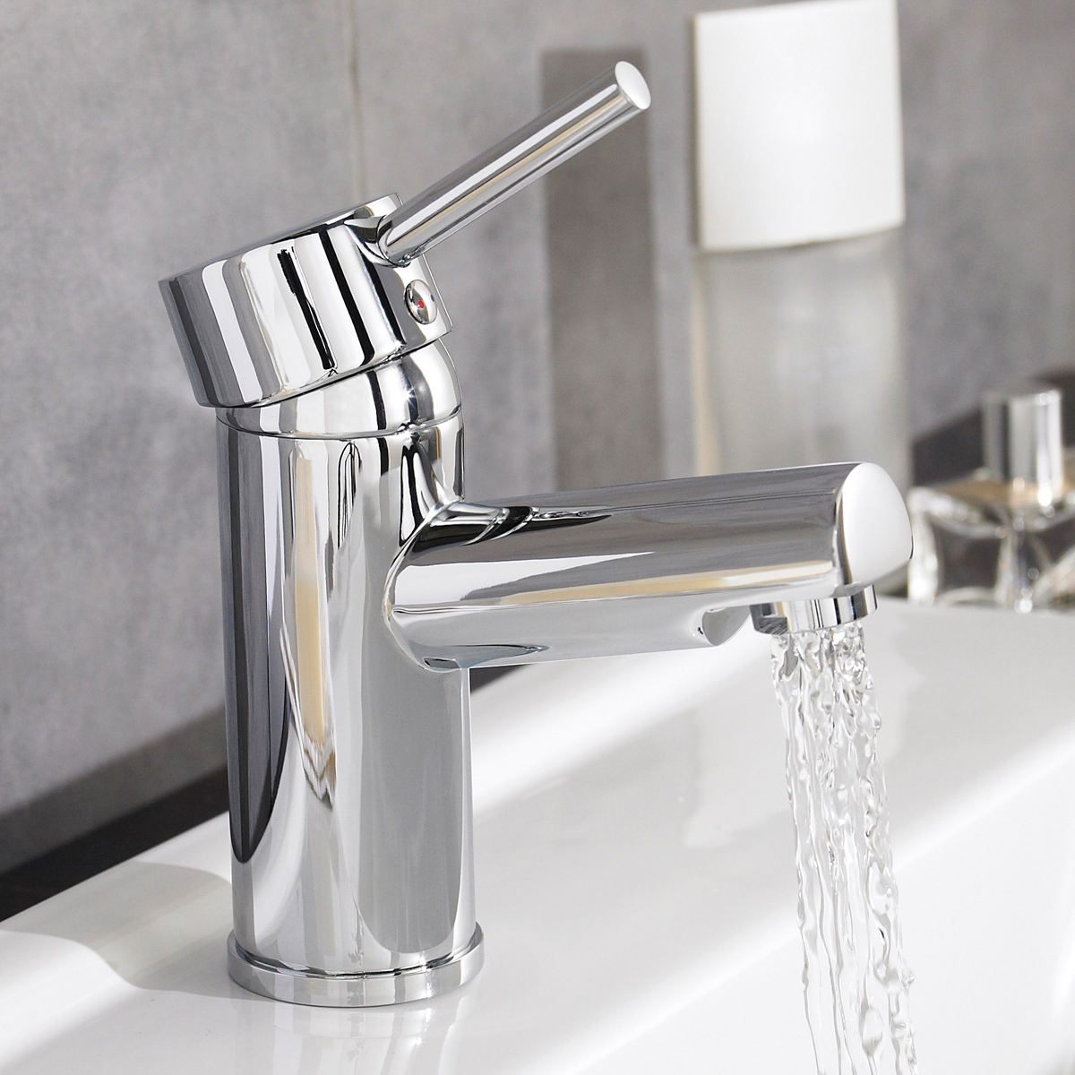 Manton Mono Basin Mixer with Clicker Waste