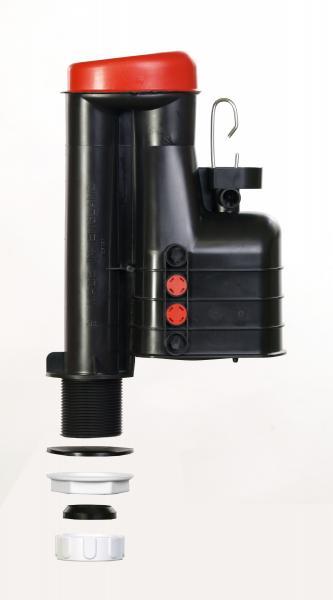 "Fluidmaster Dual Flush Toilet Syphon 9"" Plastic"