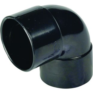 Solvent Weld 90° Bend 50mm Black