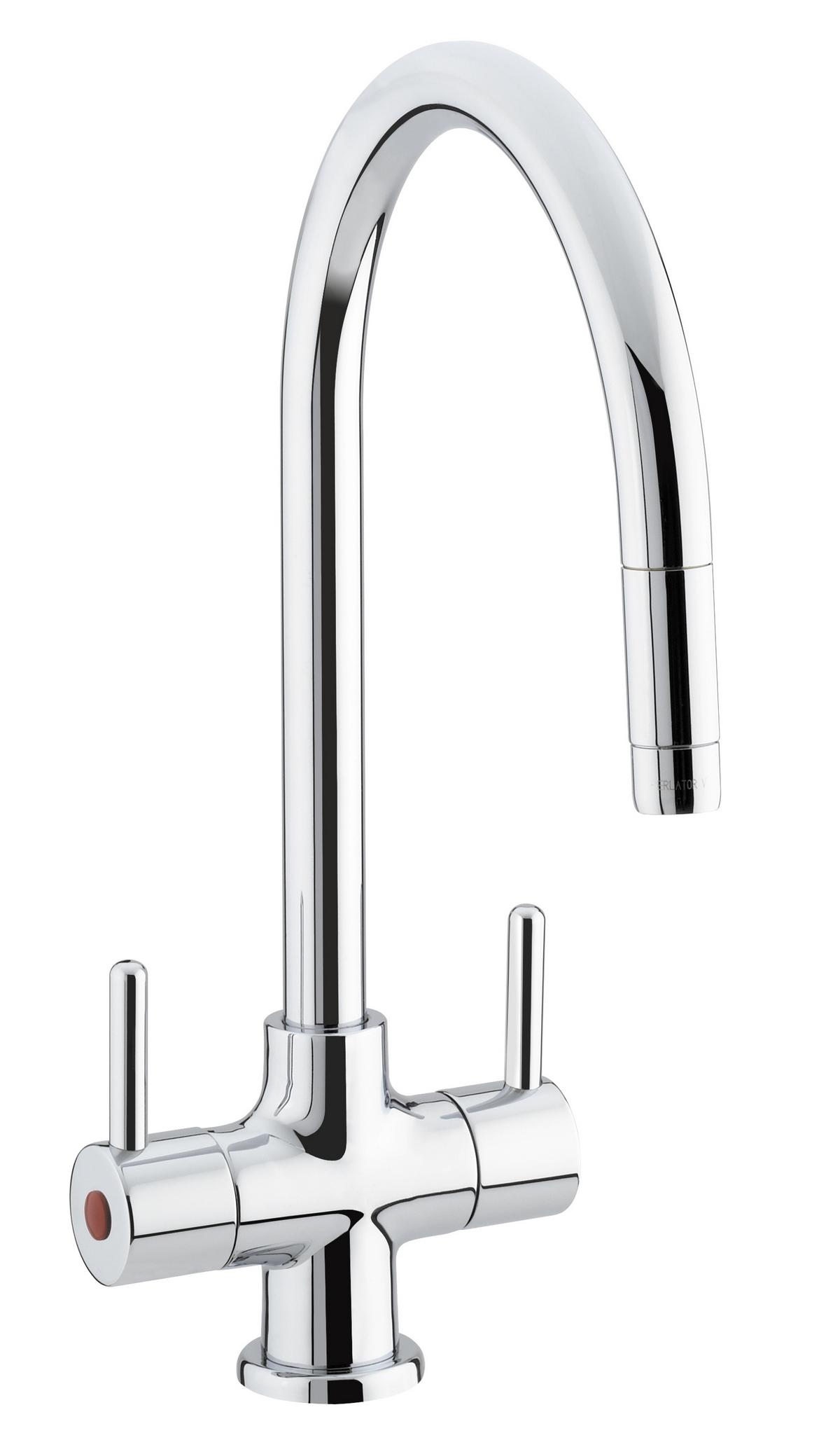 Bristan Beeline Mono Kitchen Sink Mixer Tap Pull Out Nozzle ...
